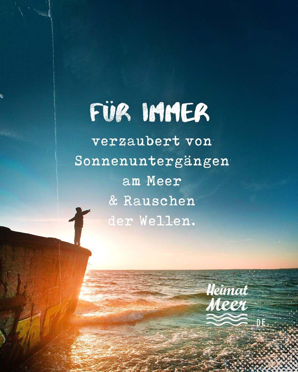 FÜR IMMER verzaubert von Sonnenuntergängen am Meer & Rauschen der Wellen. Für alle, die das Meer lieben >>