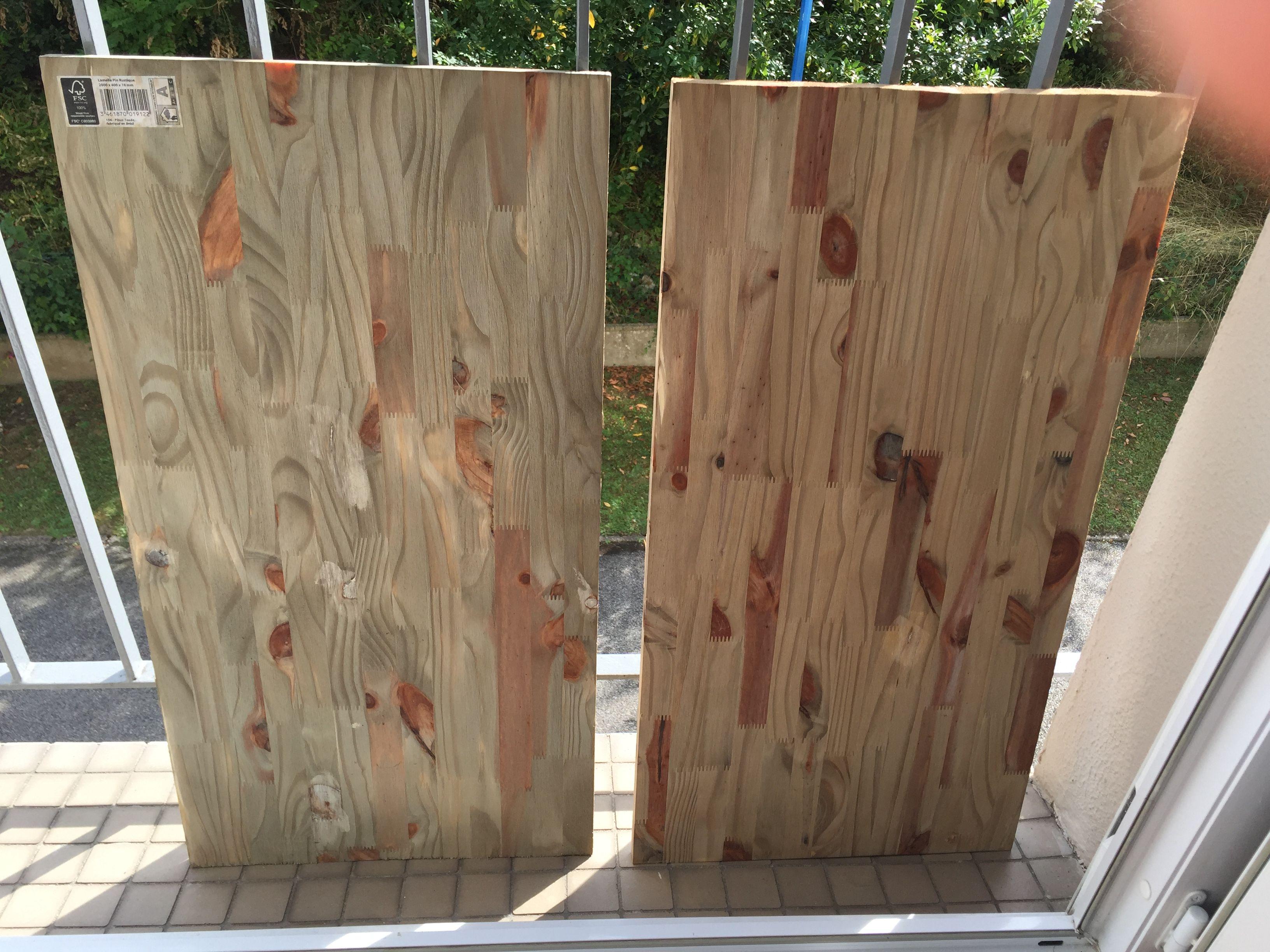 comment vieillir du bois tr s simple prenez du vinaigre blanc mettez de la paille de fer. Black Bedroom Furniture Sets. Home Design Ideas