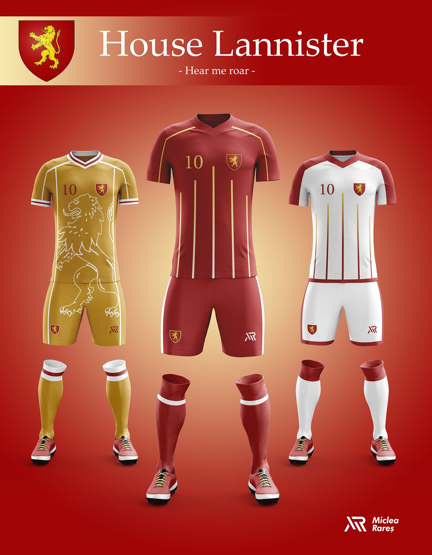Concept - Game of Thrones football kits  b39172bbbe763