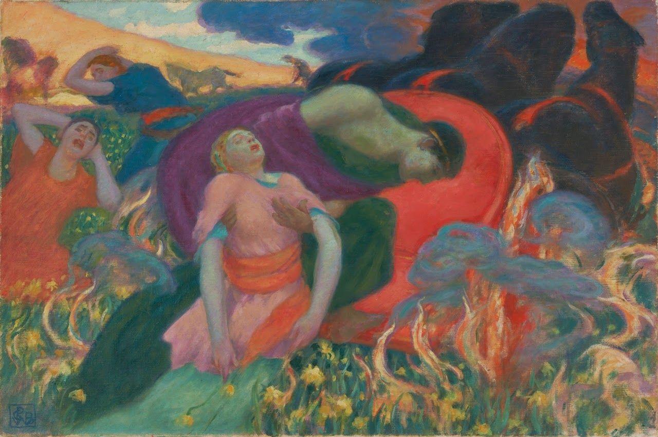 Rupert Bunny ~ Colorist/symbolist painter   Tutt'Art@   Pittura * Scultura * Poesia * Musica  