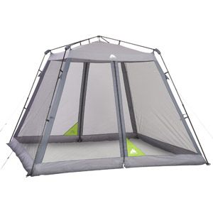Ozark Trail Instant 10 X 10 Screen House 79 97 Screened Canopy Screen Tent Canopy Outdoor