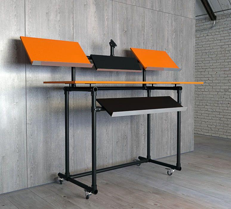 den ultimativen dj tisch zum selber bauen anleitung gegenst nde brauchbares dj tisch dj. Black Bedroom Furniture Sets. Home Design Ideas
