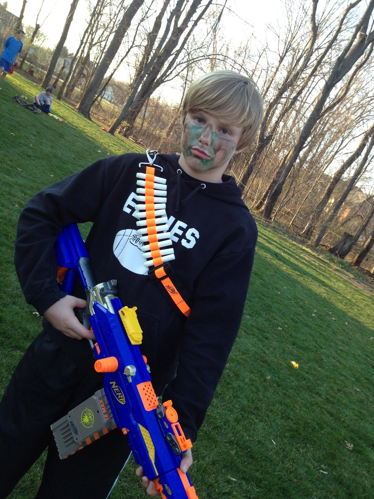 merry me events: Glow-in-the-dark Nerf Battle Birthday Party