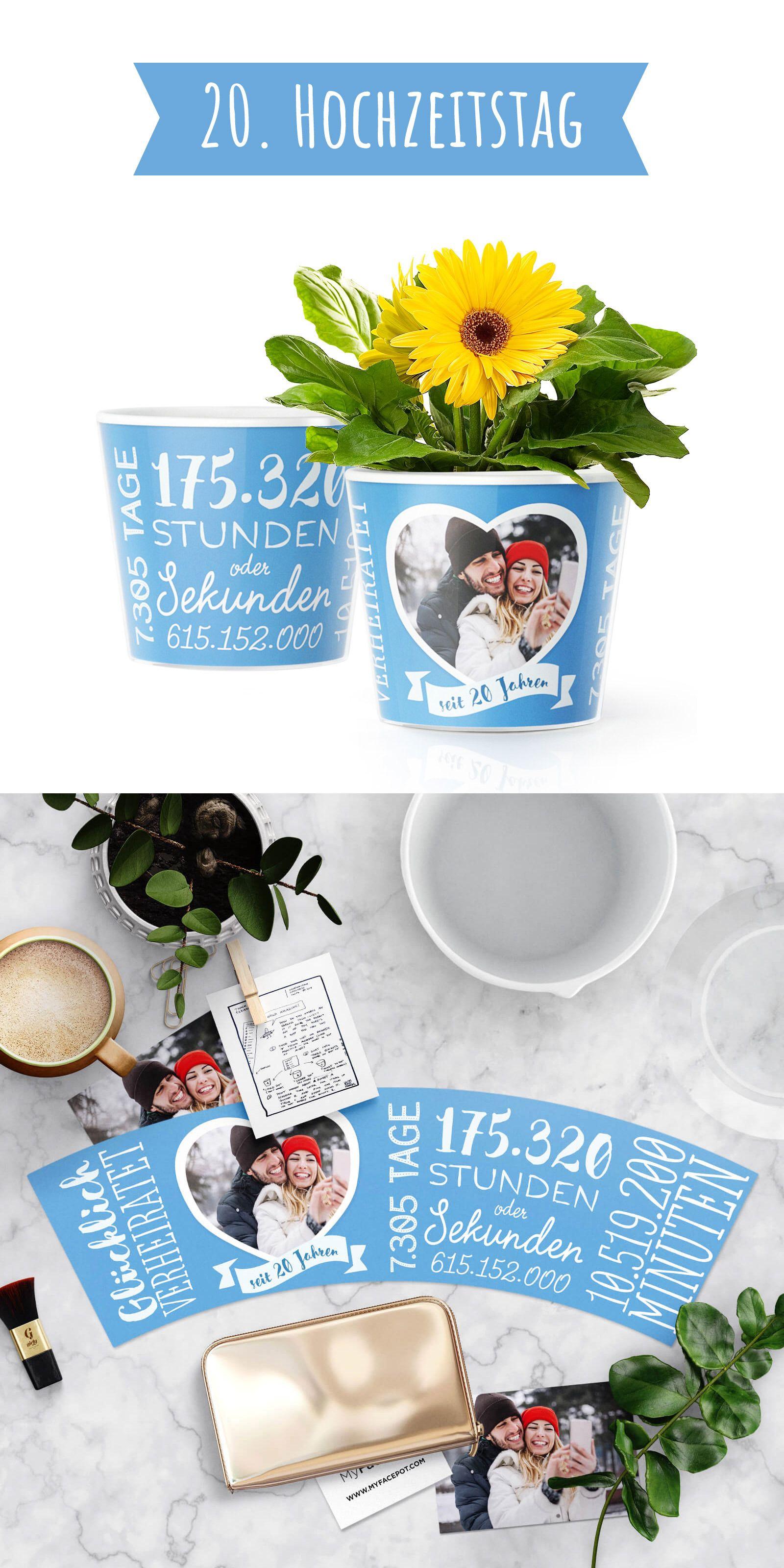20 Hochzeitstag  Porzellan Hochzeit Romantisches