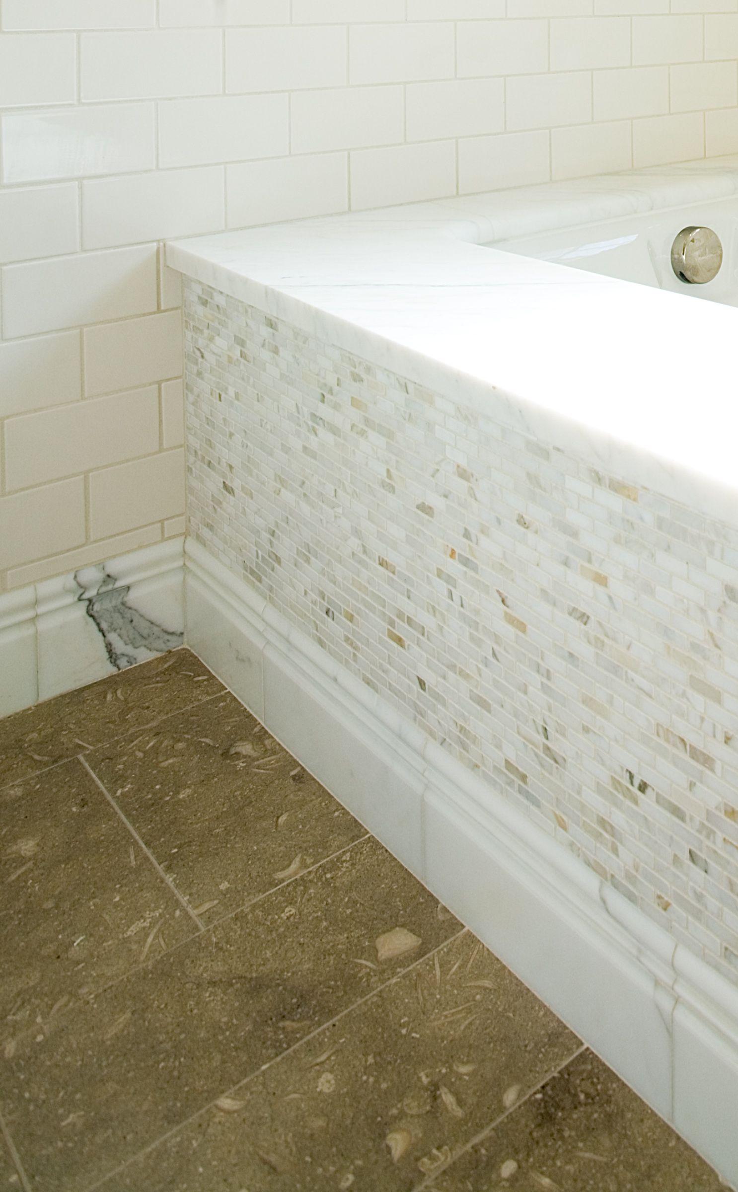 Marble Tub Riser Baseboard Seagrass Limestone Flooring Marble Bathroom Designs Marble Bathroom Baseboards