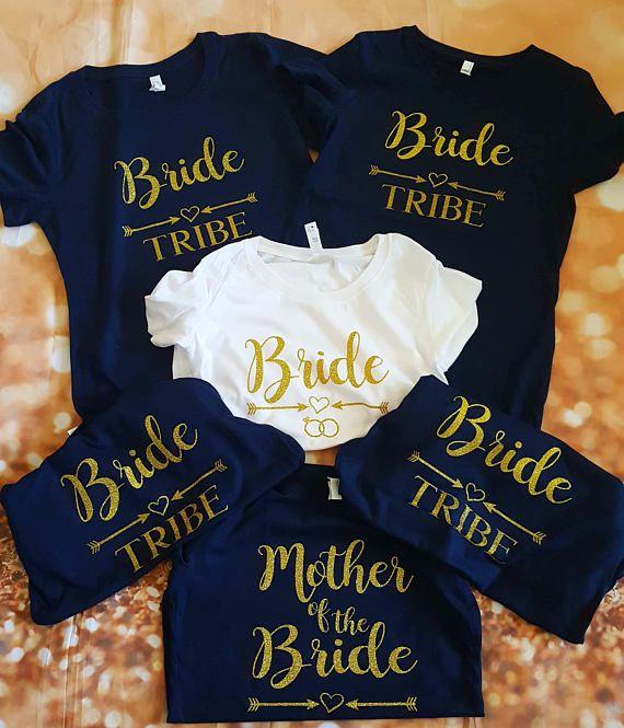 Bride Tribe Shirt Bridal Party Shirt Bachelorette Shirts Wedding Bride Bri Bridal Party Tshirts Bridal Party Shirts Bachelorette Bridesmaid Shirts Bachelorette