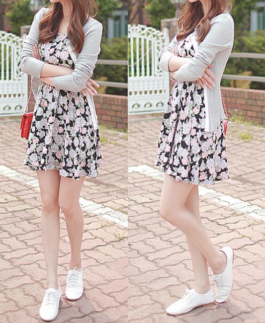 19e9ae2f398 Floral dress