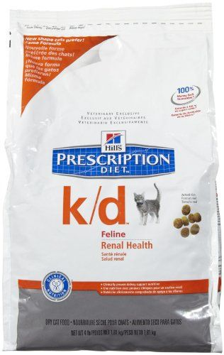 Hills Prescription Diet Kd Feline Renal Health 4lb Check Out This Great Product Note It Is Affiliate Link To Science Diet Cat Food Best Cat Food Cat Food