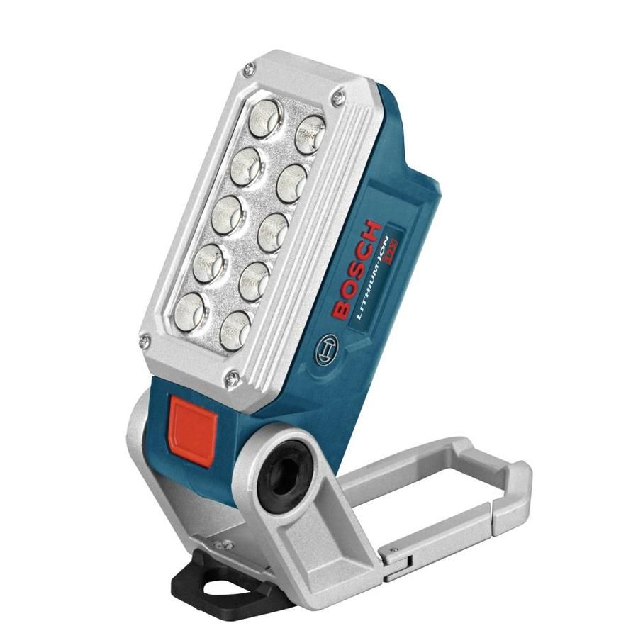 Bosch 12 Volt Max 330 Lumen Led Rechargeable Power Tool Flashlight Fl12 In 2020 Bosch Tools Work Lights Led Work Light
