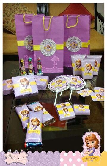 Fiesta Princesita Sofia - pack para fiesta en el nido