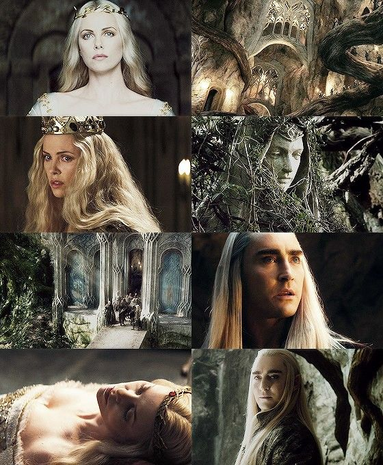 Thranduil and his wife | Movies | Thranduil, Lord of the rings, Lotr