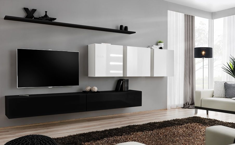 Shift 7 - contemporary entertainment center | Obyvacka in ...