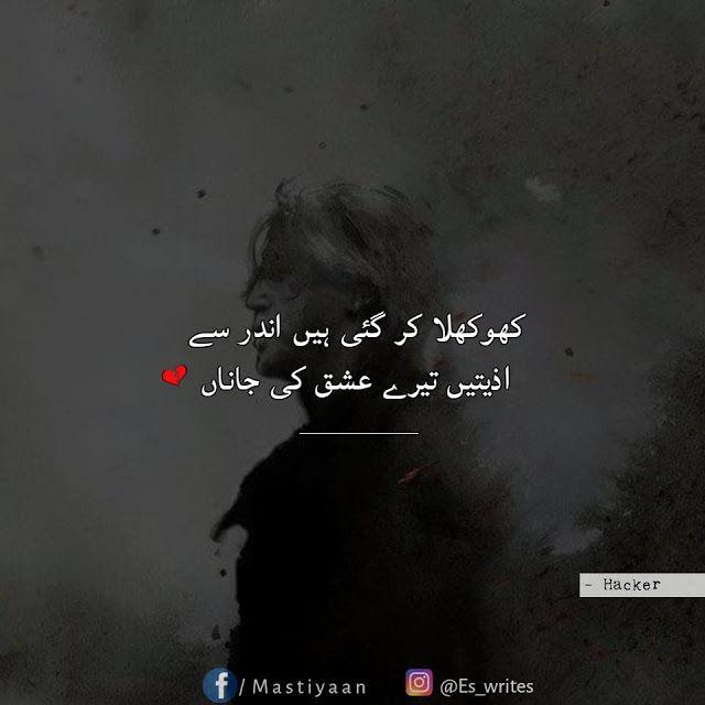 Pin By Ayat Noor On Shayari