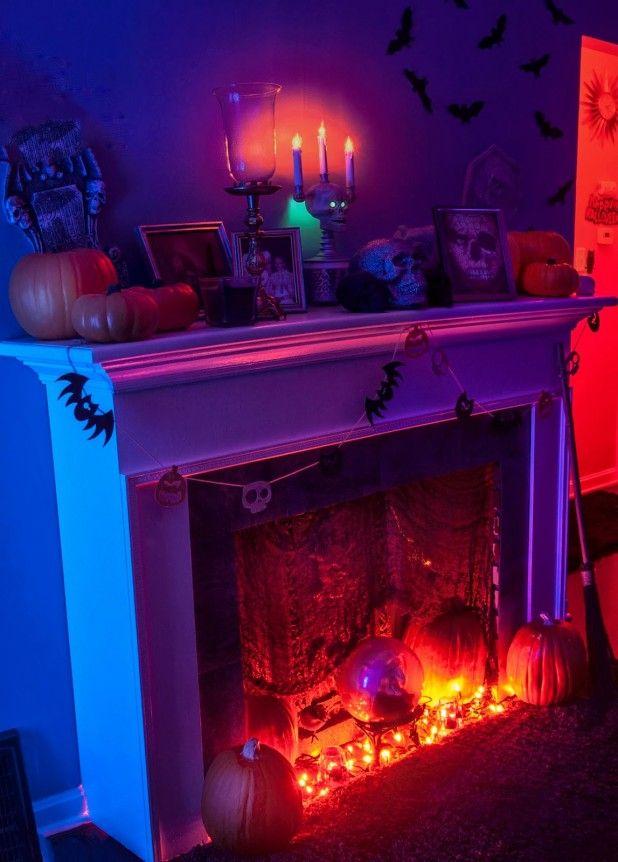 26 Stunning House Halloween Decorations Ideas Decoration, Spooky - decoration ideas for halloween party