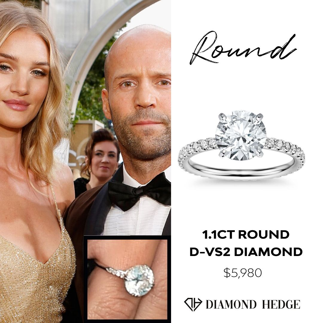 Rosie Huntington Whiteley Diamond Ring Diamond Comparison Lab Grown Diamonds Engagement Diamond