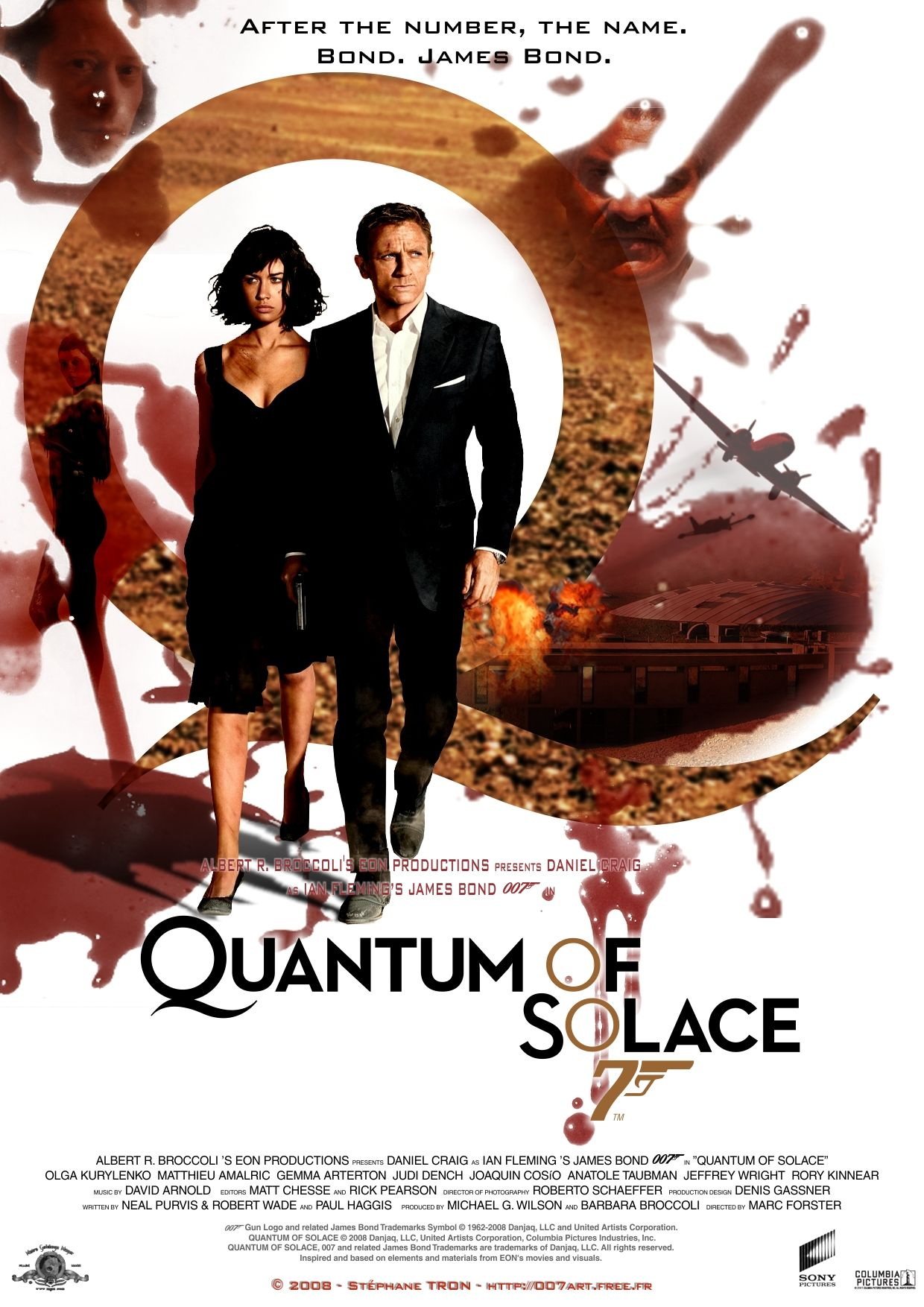 Quantum Of Solace Poster 22 Bond Movies James Bond Best Bond