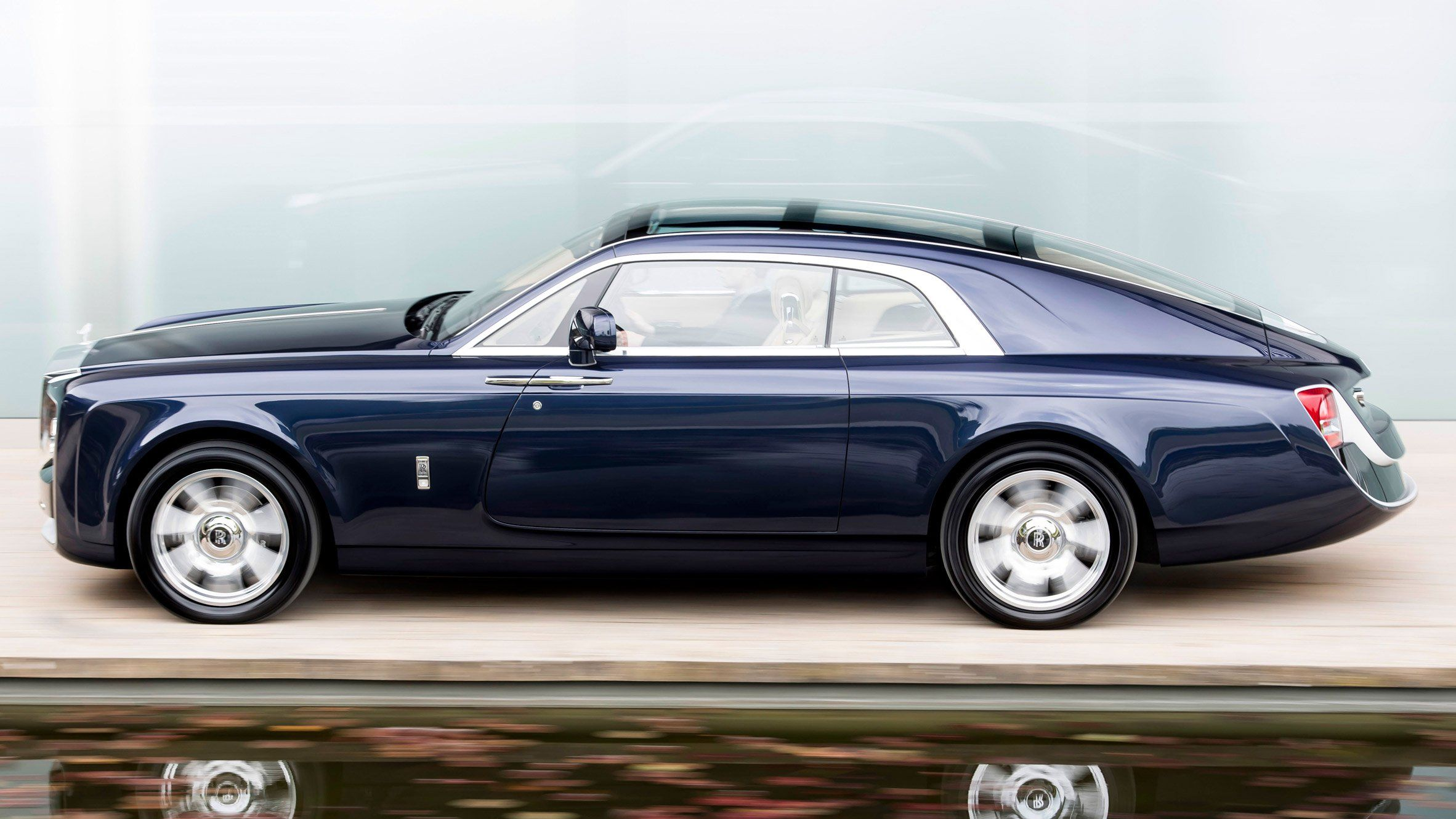 car brand rolls royce has created a two seater motorcar. Black Bedroom Furniture Sets. Home Design Ideas