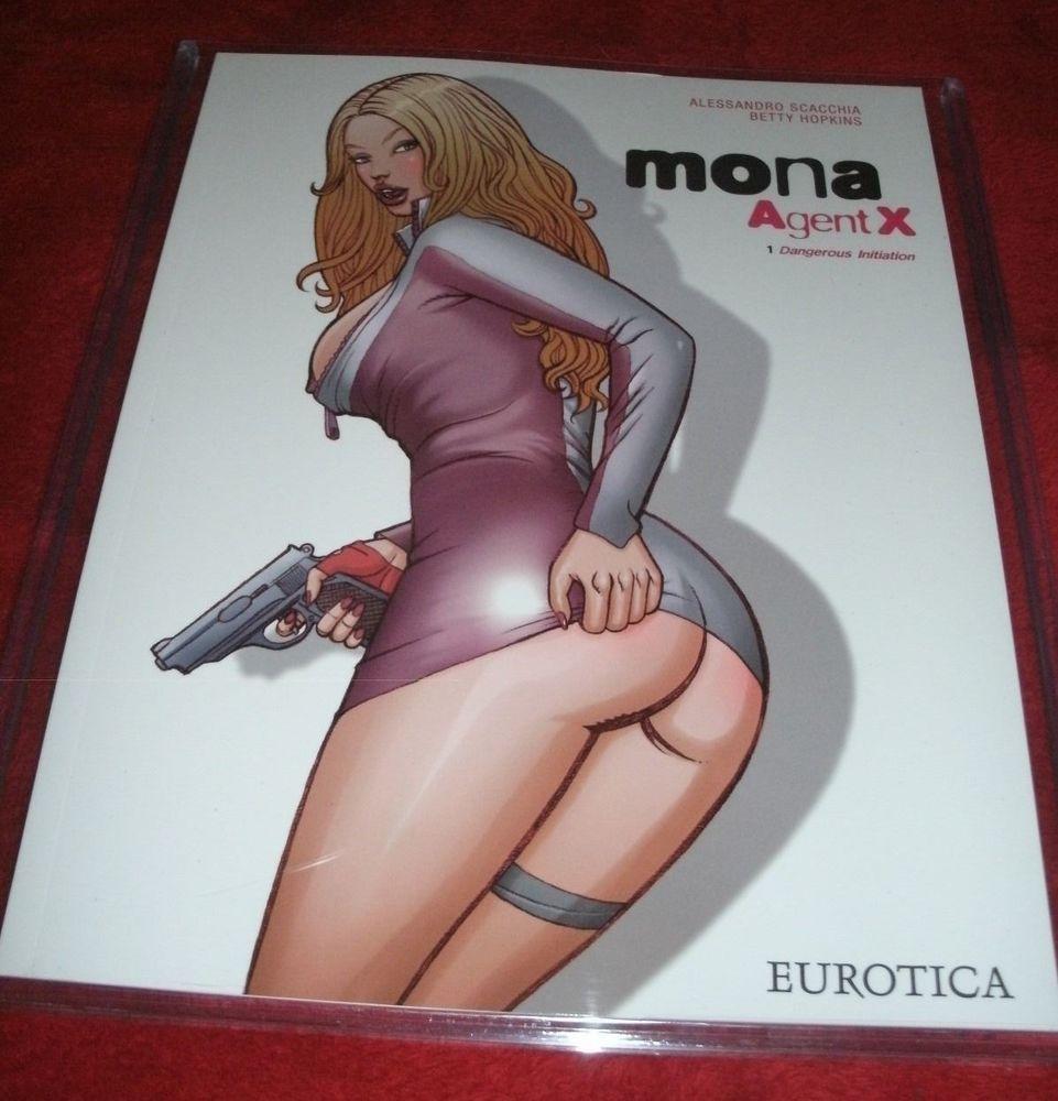 mona agent x - vol.1 - eurotica (alessandro scacchia, betty hopkins