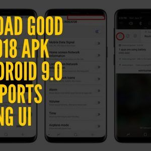 Download Good Lock 2018 APK For Android 9 0 Pie Supports Samsung UI