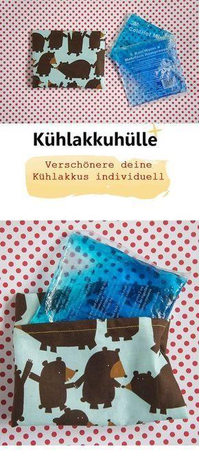 Photo of Kühlakkuhülle – Frau Scheiner