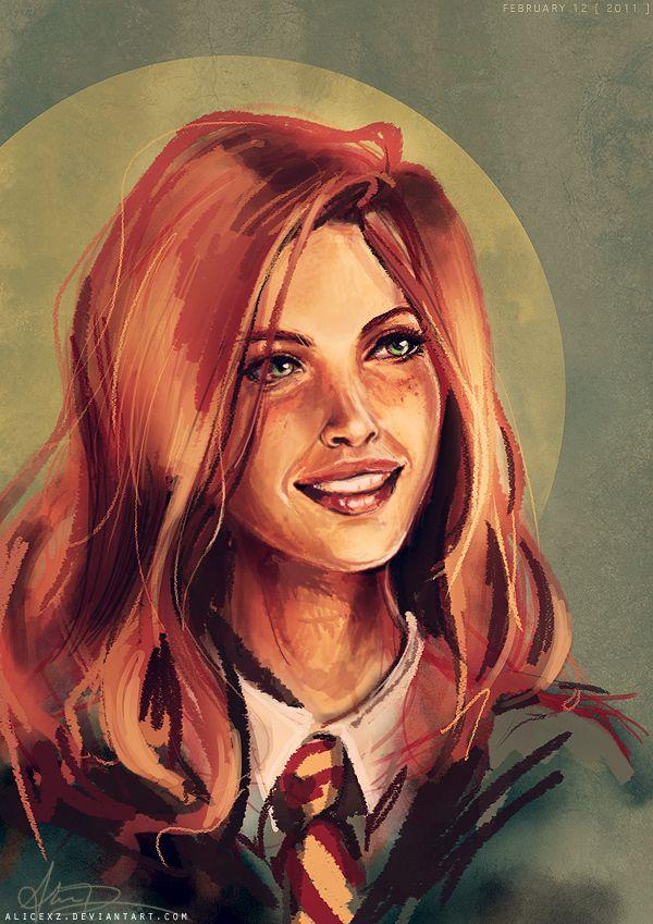 Lily Potter Harry Potter Artwork Harry Potter Fan Art Lily Potter