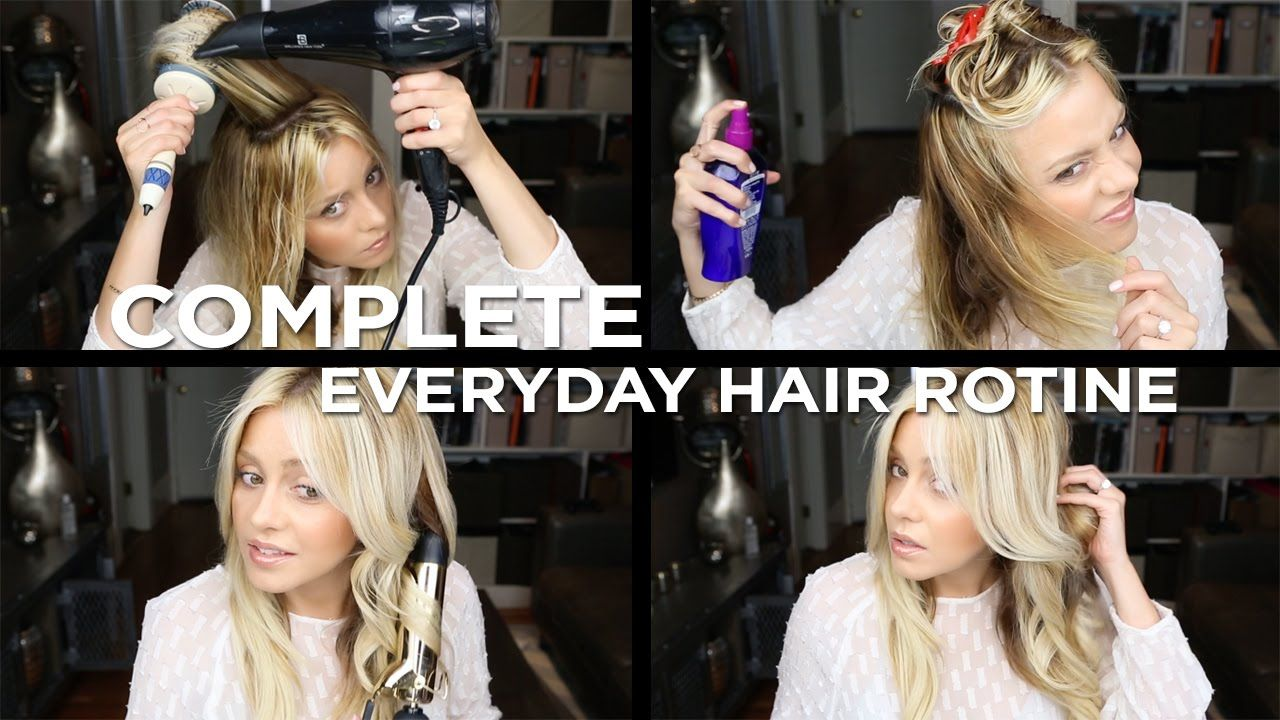 Complete Everyday Hair Care Routine for Healthy Blonde