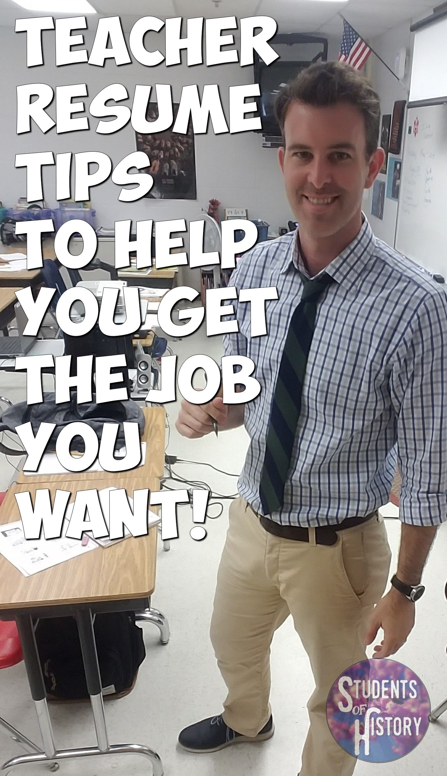 Teacher resume tips, buzzwords, and examples! Learn how to make your ...