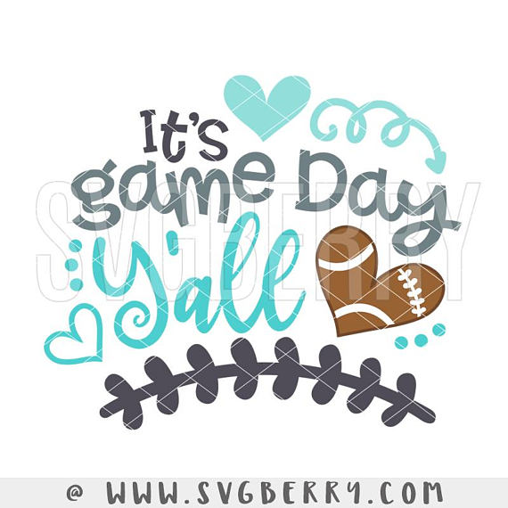 Download Its Game Day Y'all SVG / Live Love Football SVG / # ...