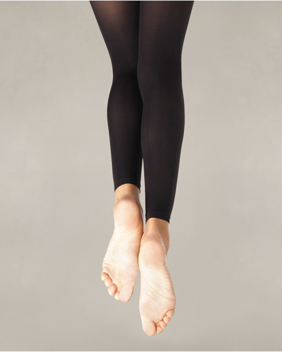 L//XL S//M XXL Capezio Ultra Soft Footed Tights for Women New Style 1815