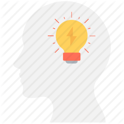 Brain Bulb Creative Mind Creativity Idea Icon Digital Marketing Icon Marketing