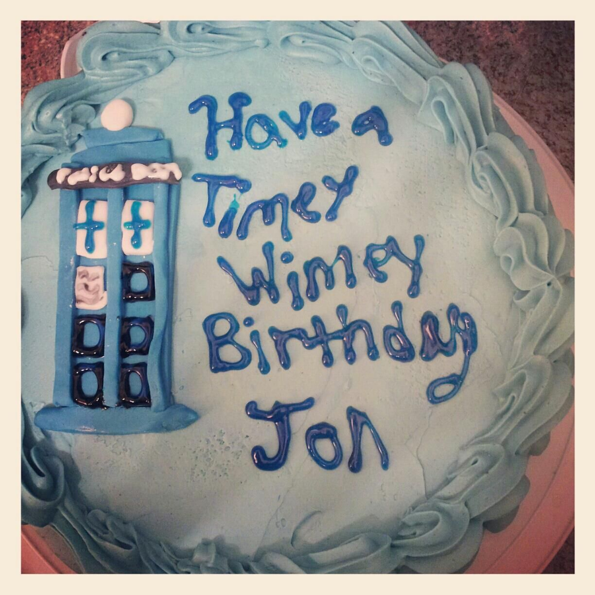 Doctor Who Cake With Images Doctor Who Cakes Doctor Who
