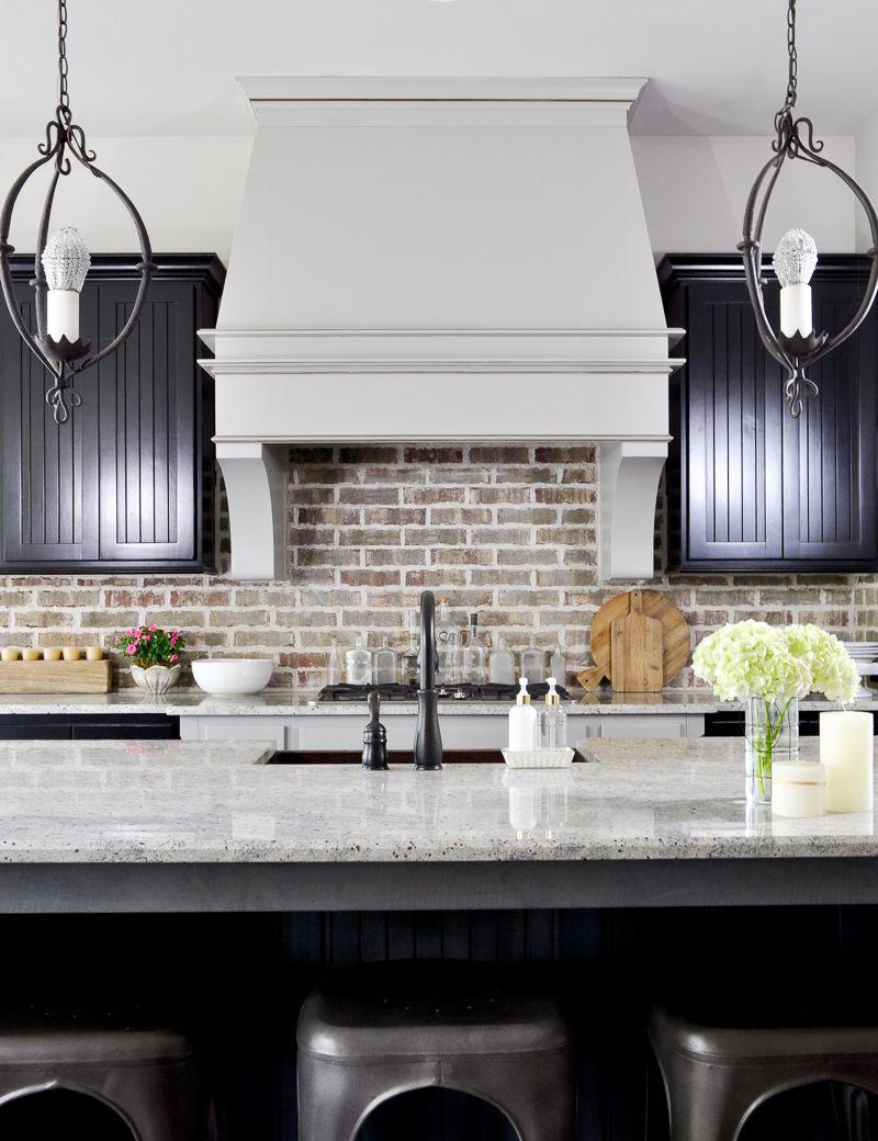 Summer Home Tour  Vent Hood Black Cabinet And Hoods Entrancing Kitchen Vent Hood Decorating Inspiration