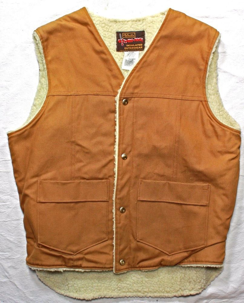Men S Vintage Walls Blizzard Pruf Insulated Lined Western Style
