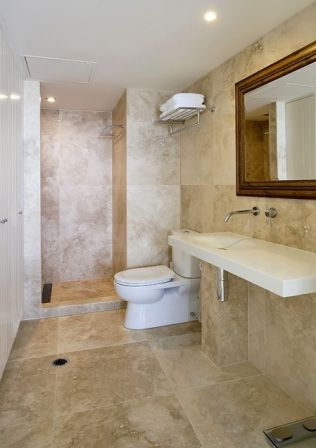 Medium Turkish Travertine Divine Bathrooms Tile? Bathroom ideas