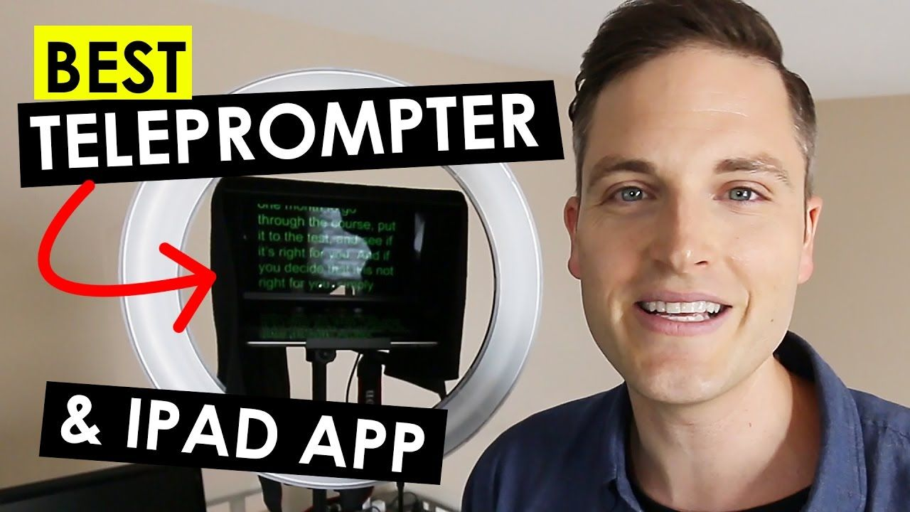 Best ipad teleprompter and teleprompter software review
