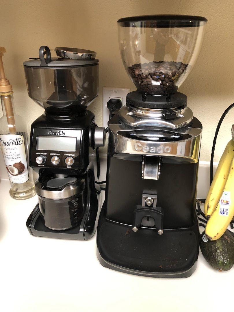 Ceado e37s quick set espresso grinder in black in 2020