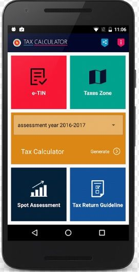 BD income Tax Calculator app will help you to calculate your Tax - Income Tax Calculator
