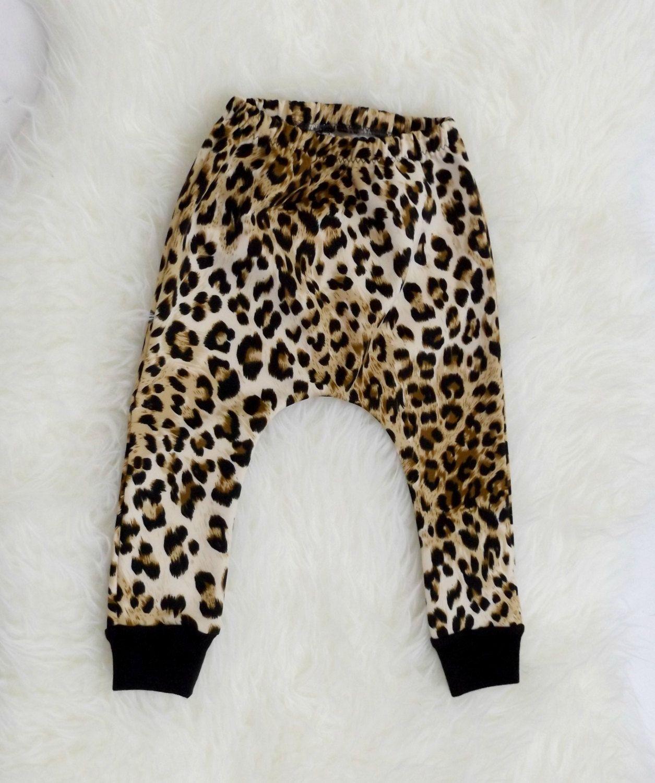 88c2a8efa9e4 Baby Girl Leopard Print Leggings - Toddler Girl Harem Pants - Cheetah Print  Harem Leggings for Baby Girls - Trendy Toddler Clothes by SuSueStudioBaby  on ...