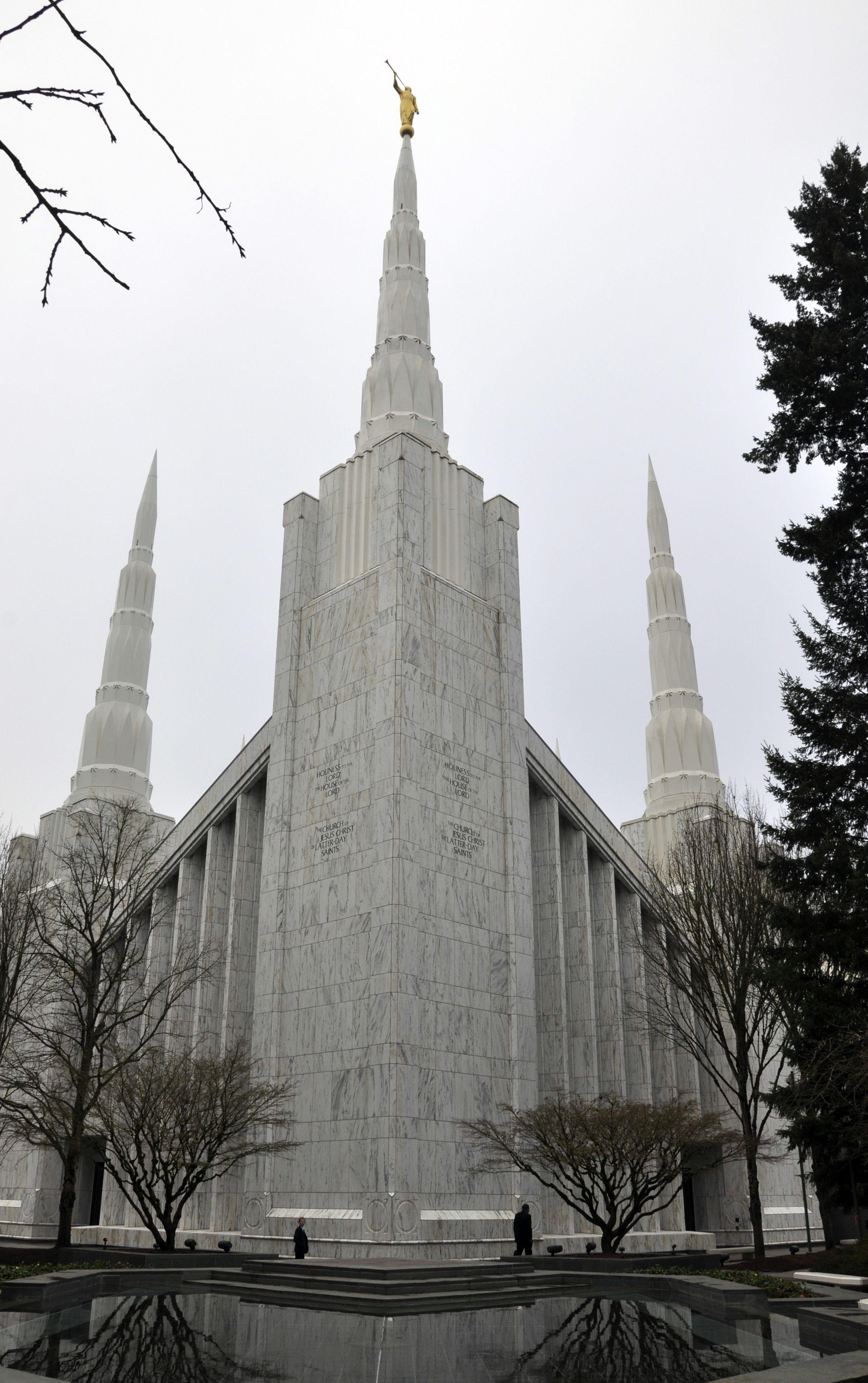 Portland Oregon Temple; Church Of Jesus Christ Of Latter