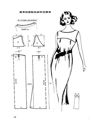 vestidos moldes - costurar com amigas - Picasa Web Album