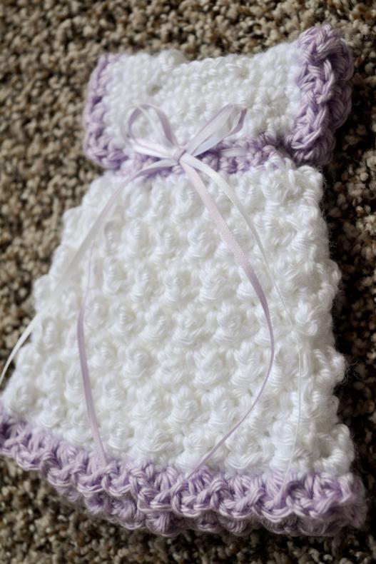 Kimono Dress Crochet Pattern Made With Caron Simply Soft Yarn F