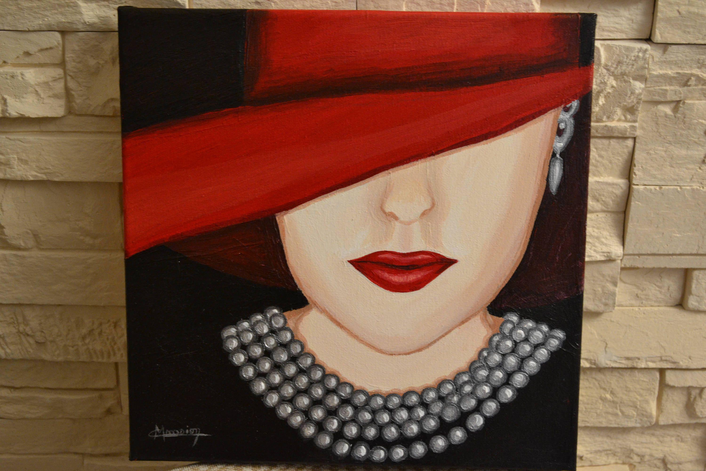 le collier de perle tableau