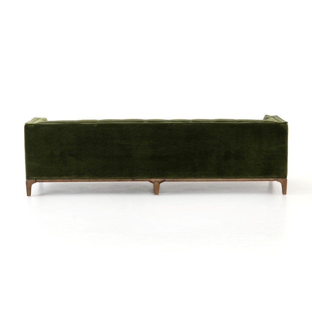 Vivian Sofa - Sapphire Olive -   17 sage green living room decor inspiration ideas