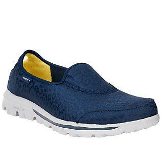 f0c0ff2681f7 Skechers Safari GOwalk Slip-On Sneakers