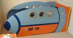 Toddler bedroom ideas  rocket bed ...