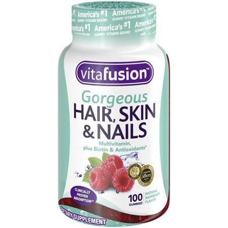 Vitafusion Gorgeous Hair Skin Nails Multivitamin Gummy Vitamins