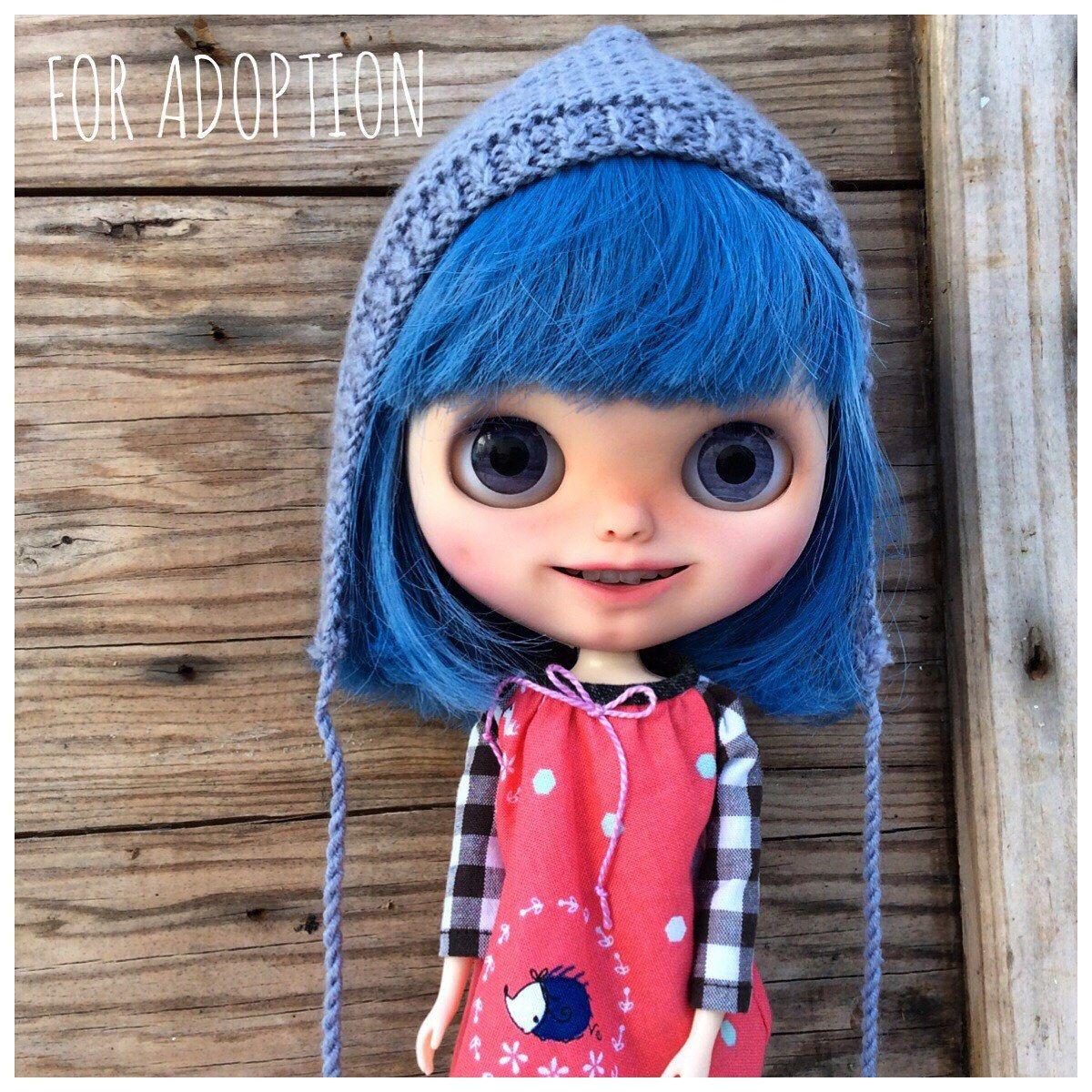 Muñecas Y Accesorios Blythe Doll Banochita Custom Original