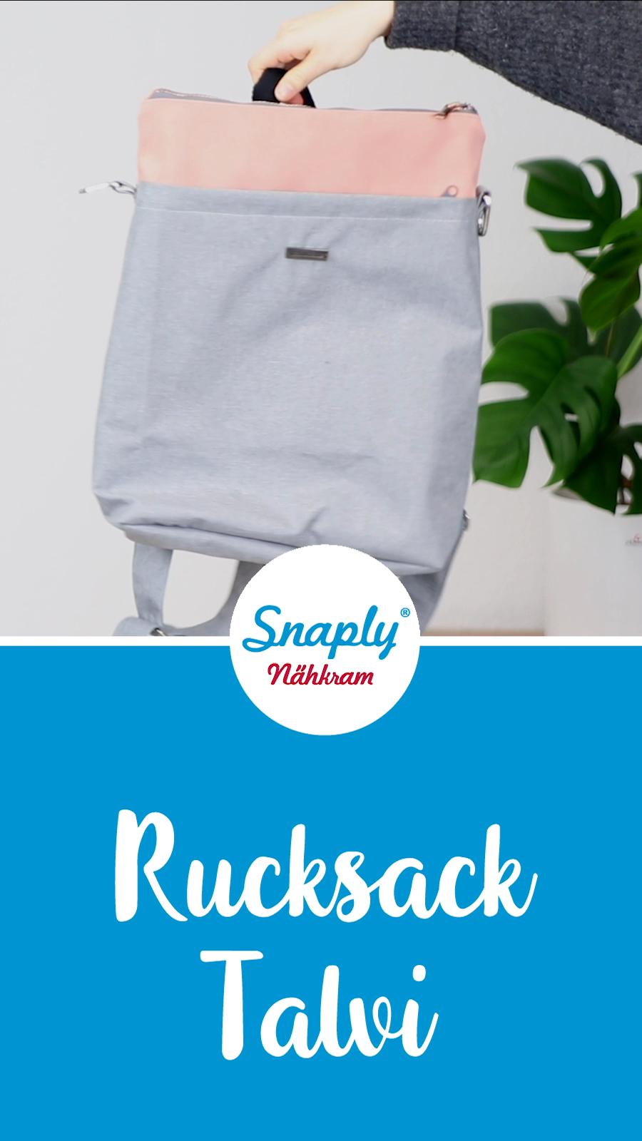 Rucksack nähen