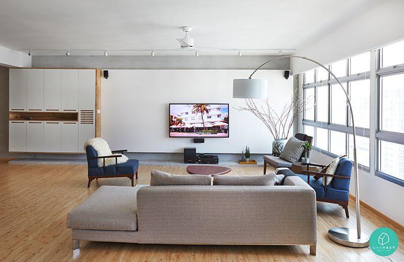 Renovation story a dreamy scandinavian 4 room hdb resale flat renotalk singapore homey living room pinterest room living rooms and interiors