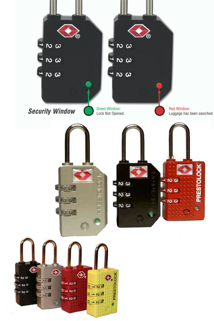 095c3484edd7 TSA Approved and Certified SearchAlert Luggage Locks - $9.95 ...